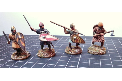 Monty's Wargaming : Conquest Games 28mm Norman Infantry