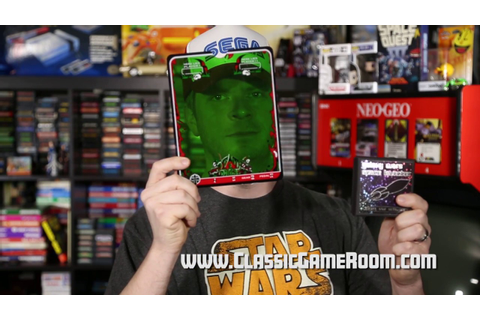 Classic Game Room - GALAXY WARS SL review for Vectrex ...