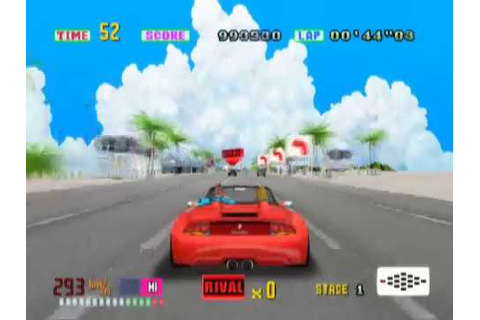 Sega Ages 2500 Series Vol. 13: OutRun (PS2 Gameplay) - YouTube