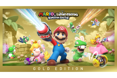 Mario + The Lapins Crétins Kingdom Battle - Gold Edition ...