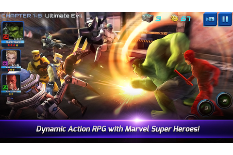"Gaming: ""Marvel Future Fight"" Hits App Store and Google ..."