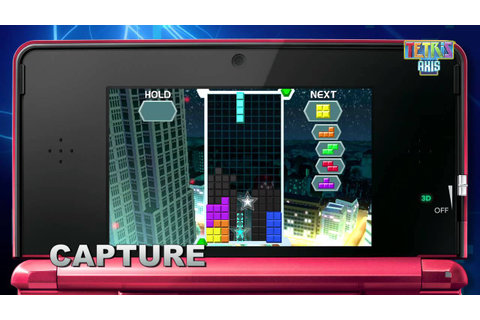 [3DS] Trailer - Tetris Axis - YouTube