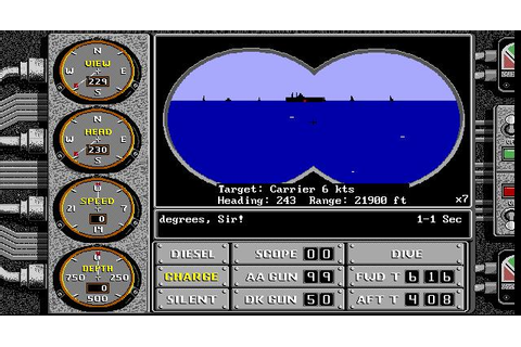 Sub Battle Simulator Download (1987 Simulation Game)