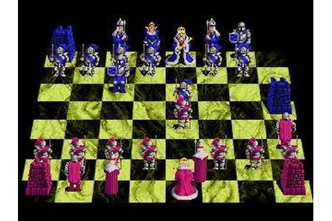 Battle Chess - Game Play - YouTube