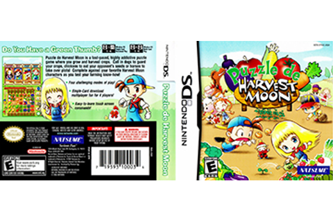 Puzzle de Harvest Moon (DS) - The Cover Project