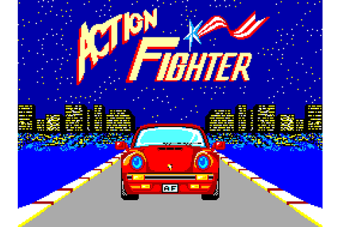 Classic Gaming Blog: Action Fighter - Sega Master System ...