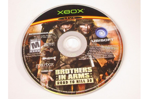 Brothers in Arms Road to Hill 30 game for Xbox (Loose ...