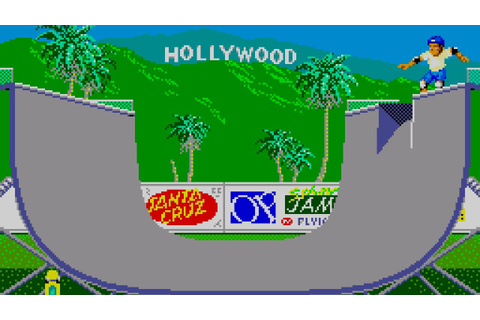 California Games (Sega Master System, 1989) [gameplay ...