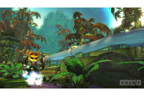 Ratchet & Clank: Q-Force gamescom shots show weapon and ...