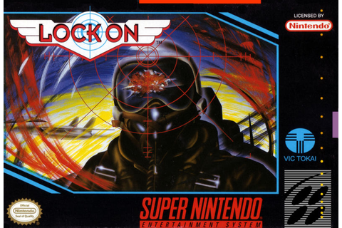 Lock On for SNES (1993) - MobyGames
