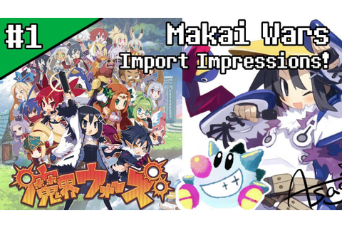 Let's Play Makai Wars (1): Disgaea mobile SRPG Spinoff ...