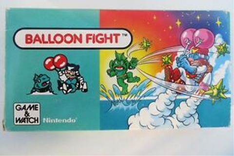 Nintendo Game & Watch Balloon Fight Retro vintage boxed ...