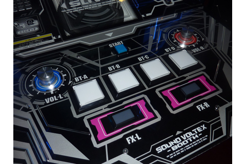 The Chronicle of Otaku: Game Review : Sound Voltex Games