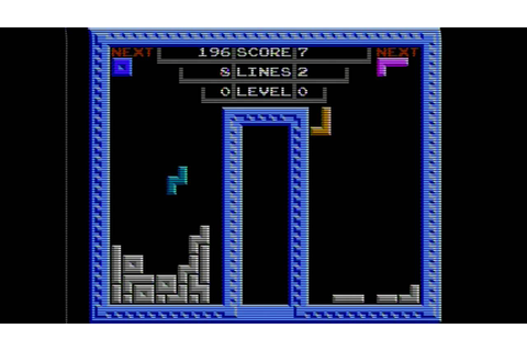 Tetris 2 NES Famicom gameplay - YouTube
