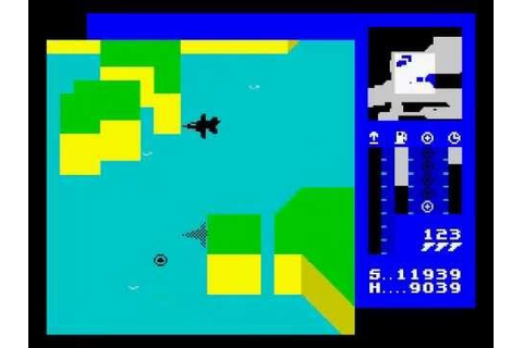 Tornado Low Level (T.L.L.) Walkthrough, ZX Spectrum - YouTube