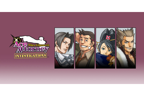 Ace Attorney Investigations: Miles Edgeworth | Nintendo DS | Games ...