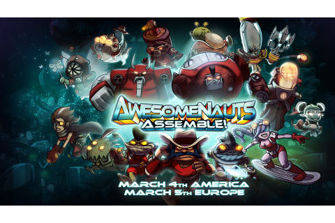 Awesomenauts Assemble! touching down on PS4® March 4 ...