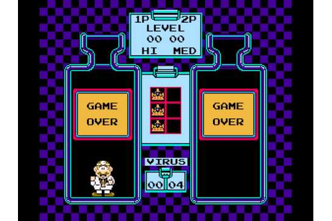 Dr. Mario (NES) - Vs. Game Over Theme - YouTube