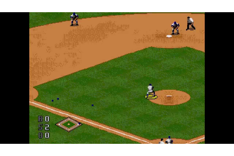 World Series Baseball 96 ... (Sega Genesis) - YouTube