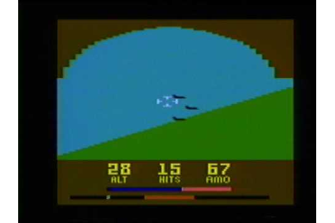 Classic Game Room HD - AIR RAIDERS for Atari 2600 review ...