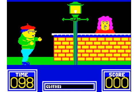 Indie Retro News: Benny Hill's Madcap Chase - ZX Spectrum ...