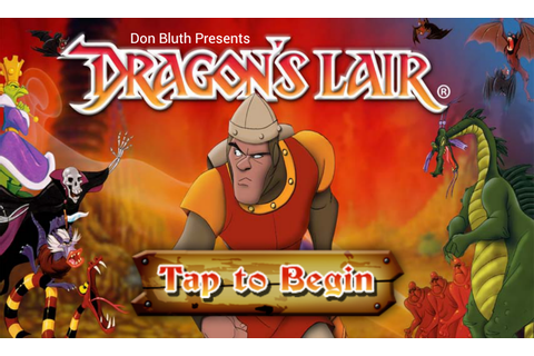 Dragon's Lair - experience the Retro Arcade game on ...