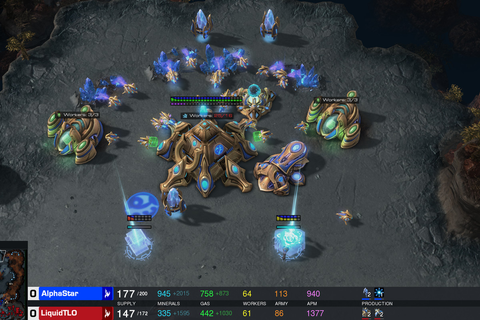 StarCraft is a deep, complicated war strategy game. Google ...