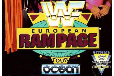 WWF European Rampage Tour - WWE Games Database