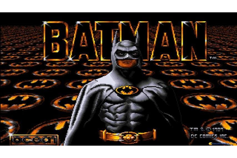 Batman the Movie gameplay (PC Game, 1989) - YouTube