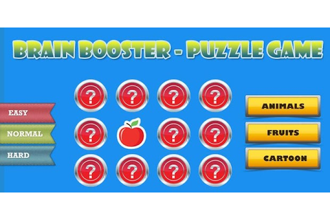 Brain Booster-Puzzle Game - Android Apps on Google Play