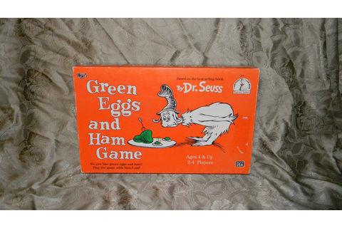 Dr. Seuss Green Eggs And Ham Board Game | eBay