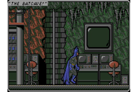 Batman: The Caped Crusader - The Company - Classic Amiga Games