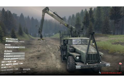 SpinTires Free Download - Game Maza
