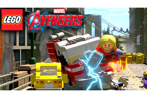 Lego Marvel's Avengers Game-Play & Character Request - YouTube