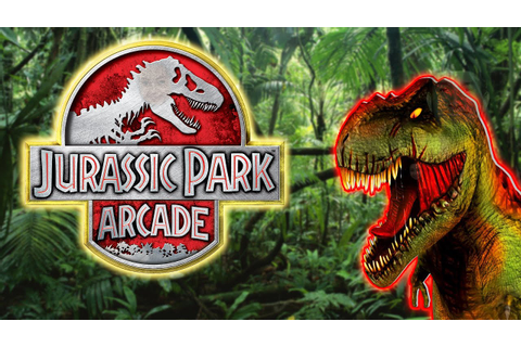 Jurassic Park Arcade - Arcade Video Game - YouTube