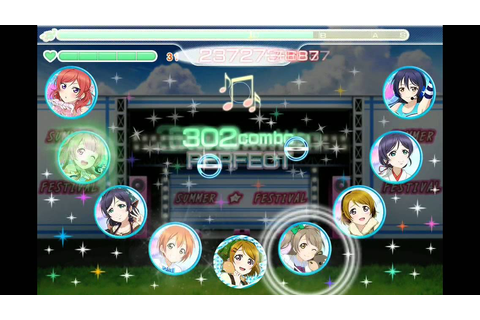[Airserver test] Love Live! School Idol Festival game play ...