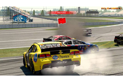 Nascar 15 The Game Crash Compilation 6 - YouTube