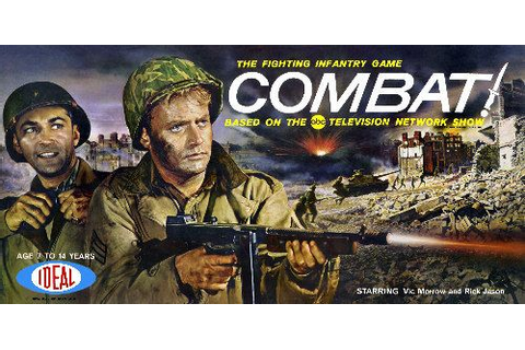 "vic morrow pinterest | We used to play ""Combat"" in the ..."