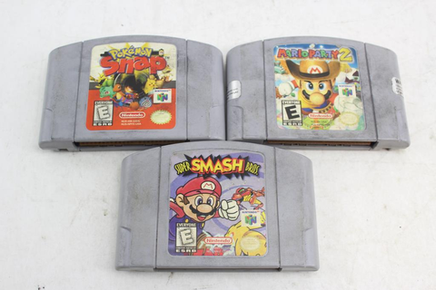 Nintendo 64 Games: Pokemon Snap, Mario Party 2 And Super ...