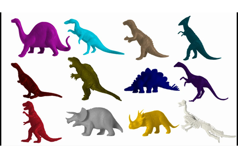 Dinosaur Colors 2 - The Kids' Picture Show (Fun ...