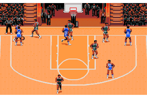 TV Sports: Basketball Screenshots for Amiga - MobyGames