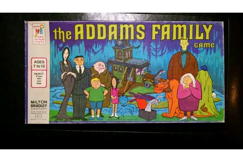 Vintage Milton Bradley the Addams Family Board Game 1974 ...