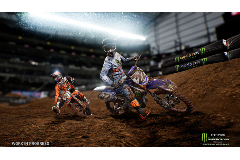 First official Monster Energy Supercross Videogame ...