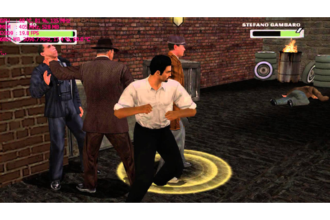 The Godfather: The Game (2006) Gameplay Max Settings 720p ...