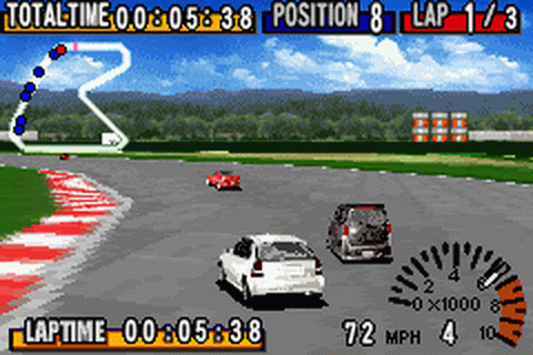 Play GT Advance - Championship Racing Nintendo Game Boy ...