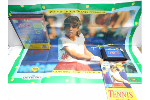 Jennifer Capriati Tennis - Save Games