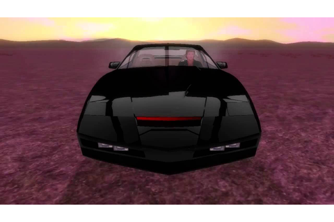 Knight Rider The Fan Game 1 : Intro Test Rigging - YouTube