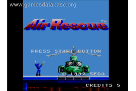 Air Rescue - Sega Master System - Games Database