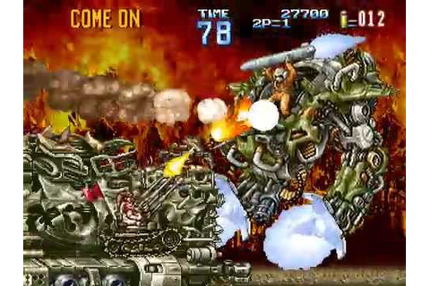 Arcade Longplay [422] Gun Force II - YouTube