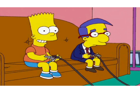 Supercut of Every Video Game Featured on 'The Simpsons'